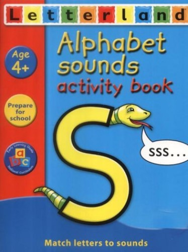 Alphabet Sounds Activity Book By Gudrun Freese
