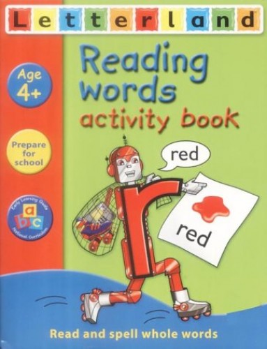 Reading Words Activity Book By Gudrun Freese