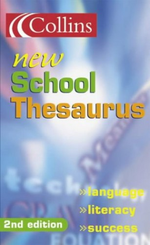 Collins New School Thesaurus By Not Known
