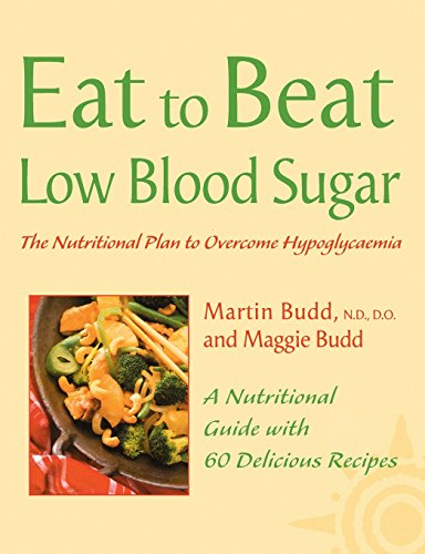 Low Blood Sugar By Martin Budd, N.D., D.O.