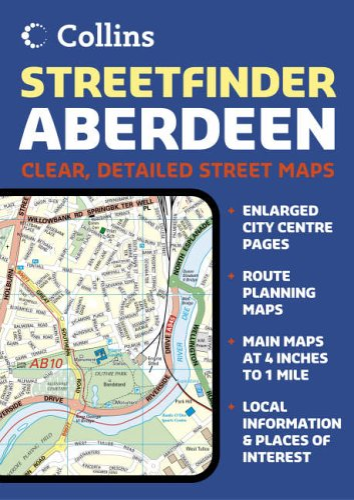 Aberdeen Streetfinder Atlas By HarperCollins