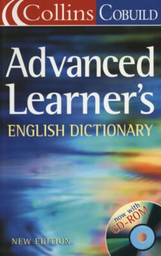 Advanced Learners English Dictionary By Collins Cobuild