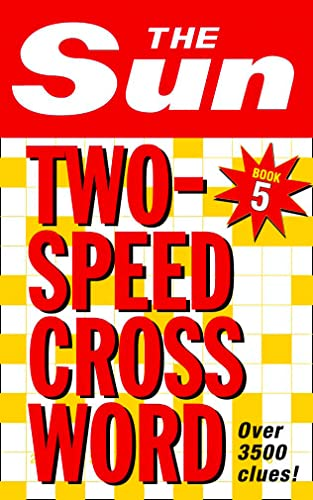 The Sun Two-Speed Crossword Book 5 By The Sun