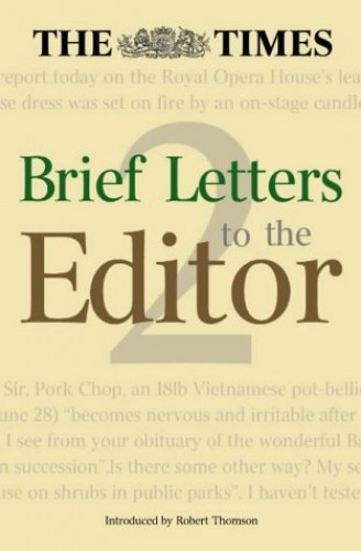 The Times Brief Letters to the Editor Book 2