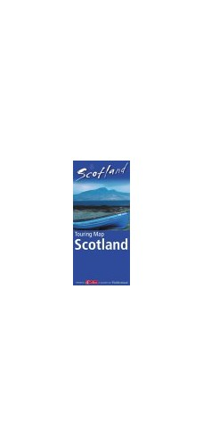 Visit Scotland: Touring Map Scotland by