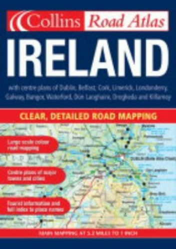 Road Atlas Ireland By Collectif