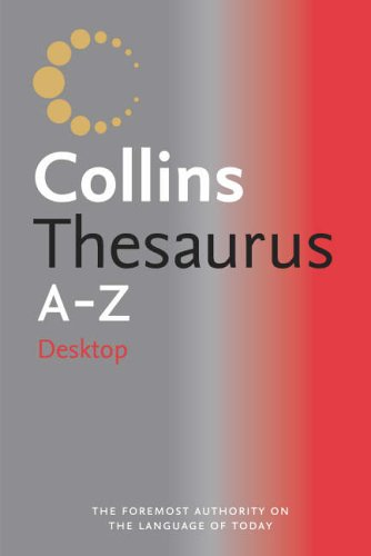 Collins Desktop Thesaurus A-Z By Not Known