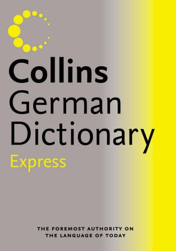 Collins Express German Dictionary By N/A