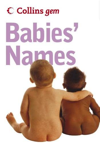 Babies' Names By Julia Cresswell