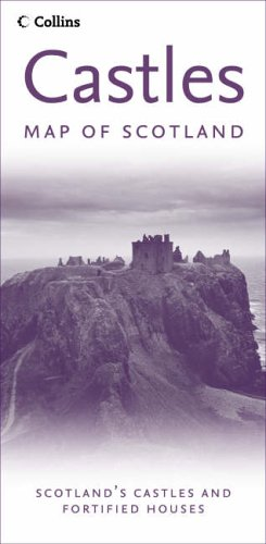 Castles Map of Scotland By Not Known