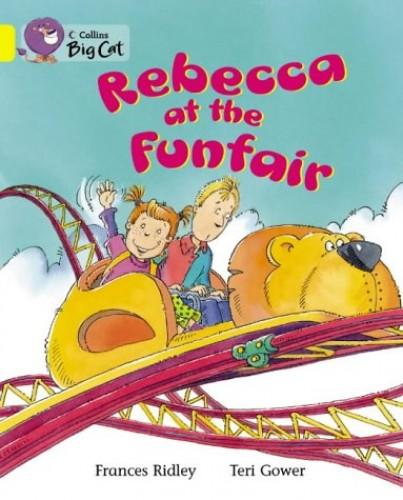 Rebecca at the Funfair By Frances Ridley