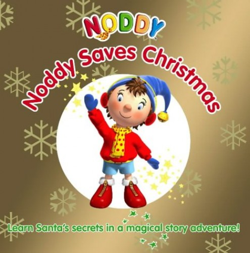 Noddy Saves Christmas!: Touch and Feel Book by Enid Blyton