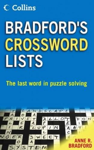 Collins Bradford's Crossword Lists By Anne R. Bradford