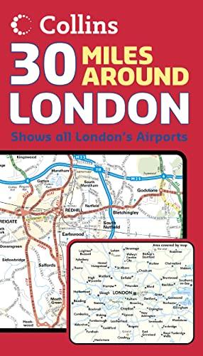 30 Miles Around London By Harper Collins