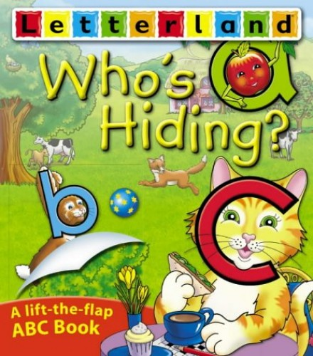 Who's Hiding ABC Flap Book By Lyn Wendon