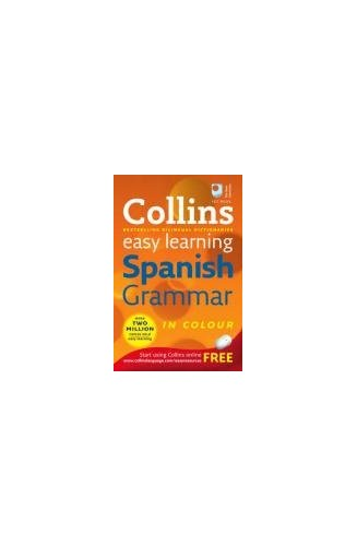 Collins Easy Learning Spanish Grammar By Anon