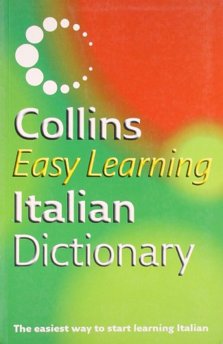 Collins Easy Learning Italian Dictionary By Not Known