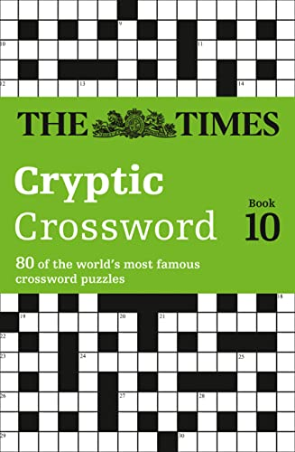 The Times Cryptic Crossword Book 10 By Richard Browne