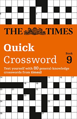 The Times Quick Crossword Book 9 By The Times Mind Games