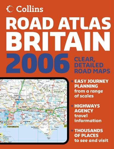 2006 Collins Road Atlas Britain By Not Known