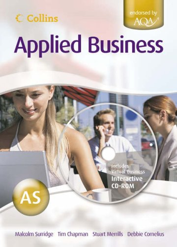 Collins Applied Business – AS for AQA Student's Book By Malcolm Surridge
