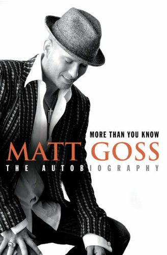 More Than You Know By Matt Goss