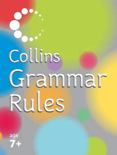Collins Primary Dictionaries – Collins Grammar Rules By John McIlwain