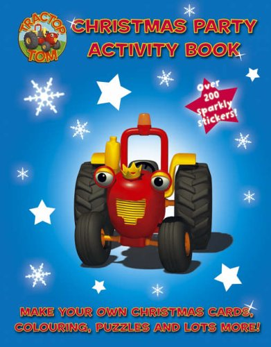 Christmas Activity Book By Tom Tractor
