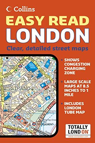 London Easy Read Atlas By Not Known