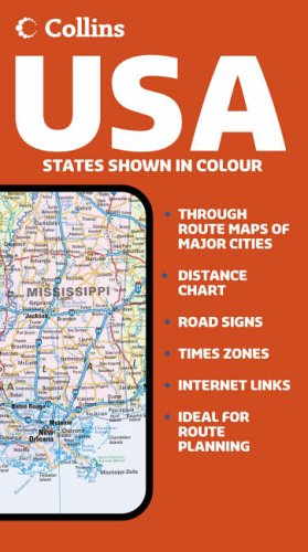 Collins USA Road Map