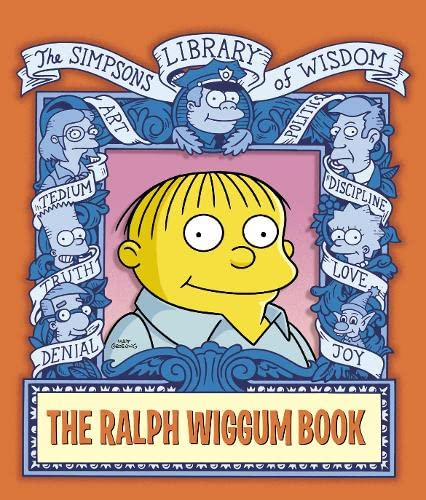The Ralph Wiggum Book By Matt Groening