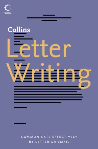 Collins Letter Writing By Collins