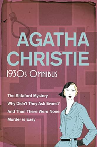 Agatha Christie 1930's Omnibus By Agatha Christie