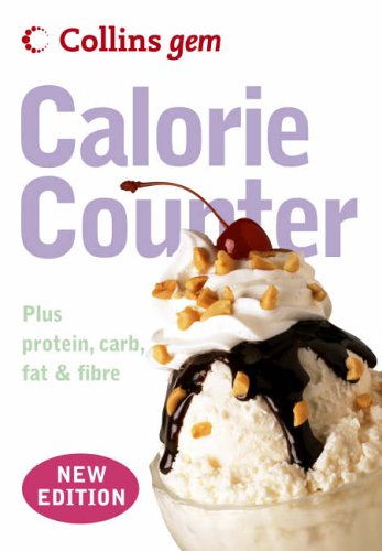 Collins Gem – Calorie Counter By HarperCollins Publishers