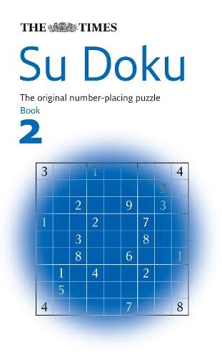The Times Su Doku Book 2 By Compiled by Wayne Gould