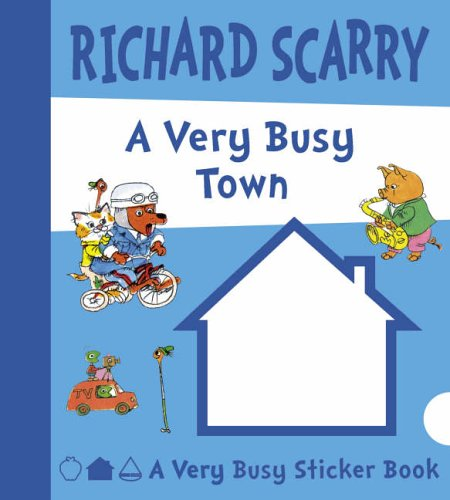 A Very Busy Town By Richard Scarry