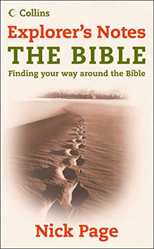 Explorer's Notes: The Bible By Nick Page