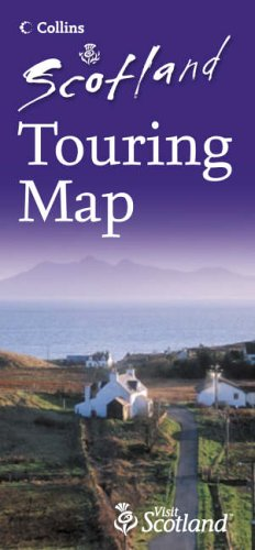 Scotland Touring Map by