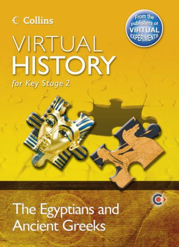 Virtual History Egyptians and Ancient Greeks CD-ROM By Christine Cooper