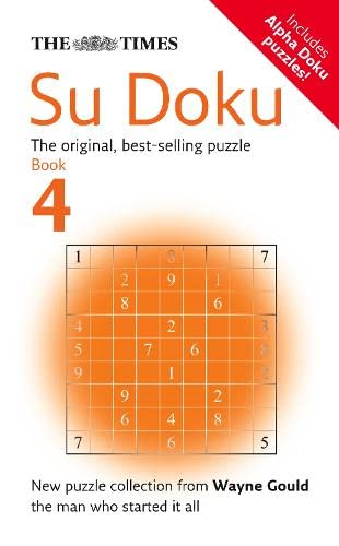The Times Su Doku Book 4 By Compiled by Wayne Gould