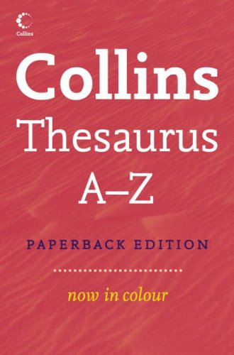 Collins Discovery Thesaurus By .