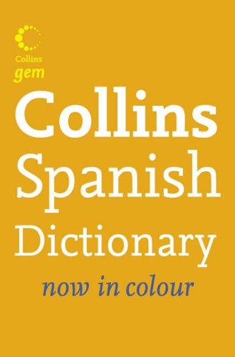 Spanish Dictionary By unknown
