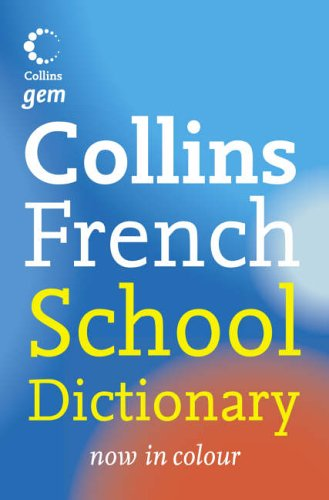 French School Dictionary By Maree Airlie