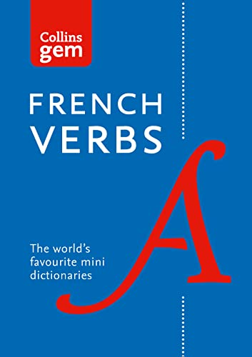 Collins Gem French Verbs (Collins Gem) By Collins Dictionaries