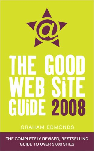 The Good Web Site Guide By Graham Edmonds