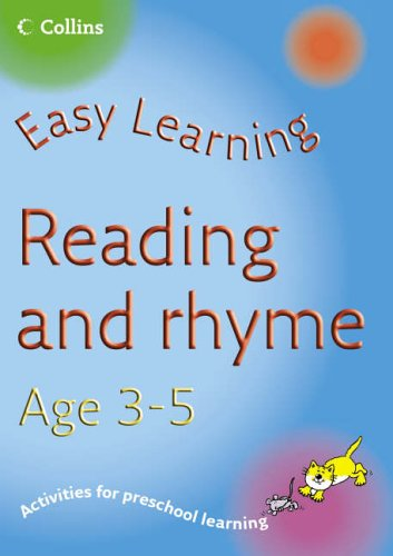 Easy Learning – Reading Age 3–5 by Carol Medcalf