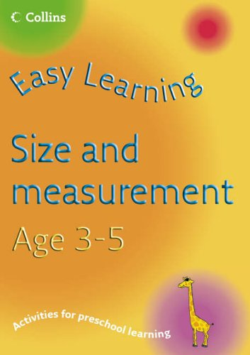 Easy Learning – Size and Measurement Age 3–5 By Carol Medcalf