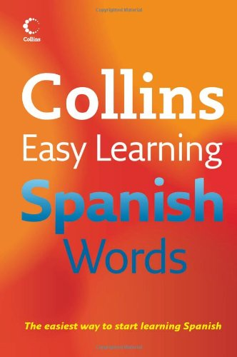 Collins Easy Learning Spanish Words By Collins