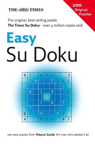 The Times Easy Su Doku By Compiled by Wayne Gould
