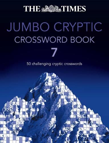 The Times Jumbo Cryptic Crossword Book 7 By The Times Mind Games